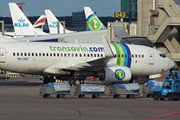 vliegen naar transavia